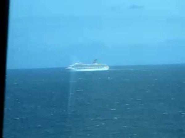 "As mentioned, today is our last day on the Caribbean Princess and we're having a totally relaxing day ""At Sea""!! Here's a Video of our Beautiful views we're enjoying from Skywalkers as we sail across the Atlantic Ocean back down to New York."
