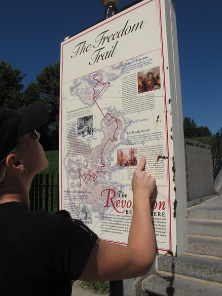 """One """"must do"""" in Boston is to check out the """"Freedom Trail"""" which highlights many of the Historical sites that were important during the American Revolution. There's N getting a little History lesson."""