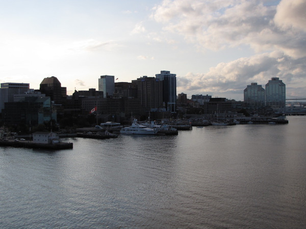 """There's one last glimpse before we say Goodbye to Halifax as we head back to New York... as always, we had another great """"Cruise Port"""" day!!"""