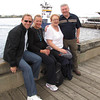 Well, it was a short visit but a really nice one... here we are spending our last few minutes on the Halifax Waterfront before we have to say goodbye to Shawn's parents. :-(