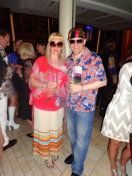 "As we were onboard for our Company's annual convention we had social time everynight & 1 night was 60s night... as we weren't around back then not too sure if we hit the mark or not? :-)<br /> <br /> Well, this was our 2nd time on a Celebrity ""Solstice Class"" ship and we have to say, we enjoyed! Yep, it's a big ship with lots of people and you'll pay for lots of extras when onboard (unlike the smaller ships & River Cruisers we've been doing lately) but not bad tradeoffs for all the choices you get to enjoy by sailing on a big ship Cruise."
