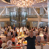 "One of the highlights of any Cruise is always the amazing, complimentary meals in the Main Dining room each night... and they were especially a highlight on ""Solstice"" as the setting was Gorgeous in their 2 story Dining room featuring a really cool Wine Tower & Beautiful Chandeliers!!"