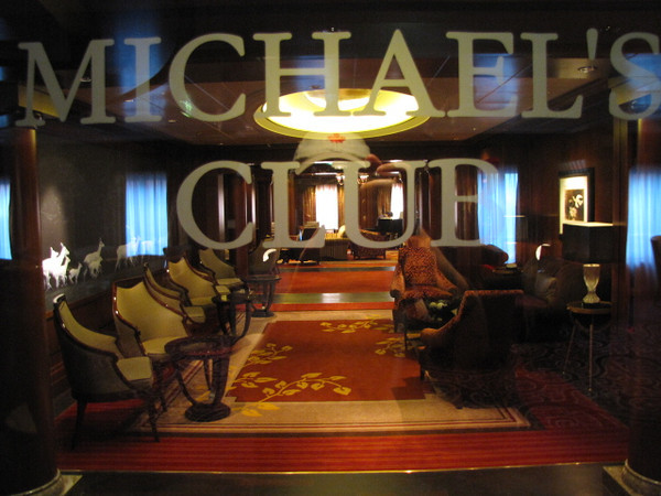 "There's ""Michael's Club"", one of Celebrity's guests favorite hang outs... a great place to have a conversation with new made friends while enjoying the ambiance set by the Live Piano player!"