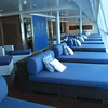"Besides access to the ""Persian Garden"" Aqua Class guests also have private access to the relaxation room at the Spa... beautiful views right at the front of the Ship."