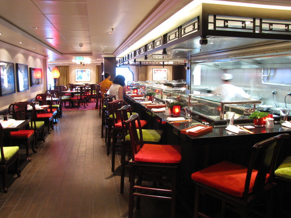 """One of the best Dining venues on the Epic was """"Shanghai's""""... 2 Restaurants in 1... a Noodle Bar & sit down Restaurant.  We tried the Noodle Bar for lunch one afternoon & the Restaurant one evening... both Excellent!!"""