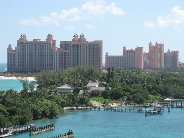 "As we just spent a week in Nassau, Bahamas at a Resort last week, this was about our only pic this trip there as we only got off for a short while... to those who've never visited Nassau before, there's the Famous ""Atlantis"" Resort... awesome Aquarium there!!"