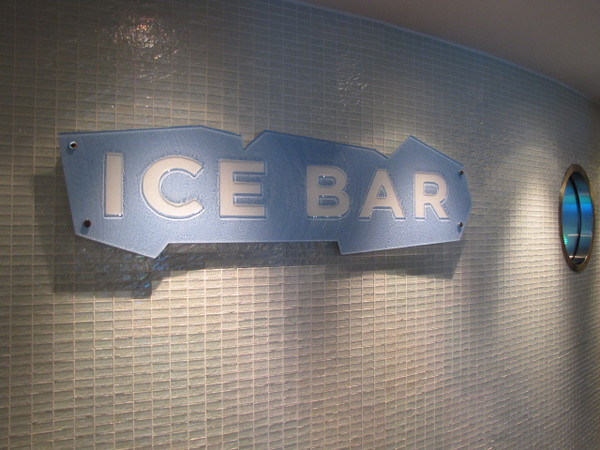 """Earlier we mentioned """"Bliss"""" was one of the coolest Bars at Sea... well Epic's """"Svedka Ice Bar"""" is definitely the """"Coolest""""... a constant temperature of 17 degrees fahrenheit, -8.33 degrees celsius, everything is made out of Ice in there... the only Ice Bar at Sea!"""