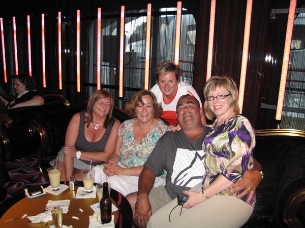There's Anna, Karen, Sherry, Brian & Tanya enjoying our Private Party...