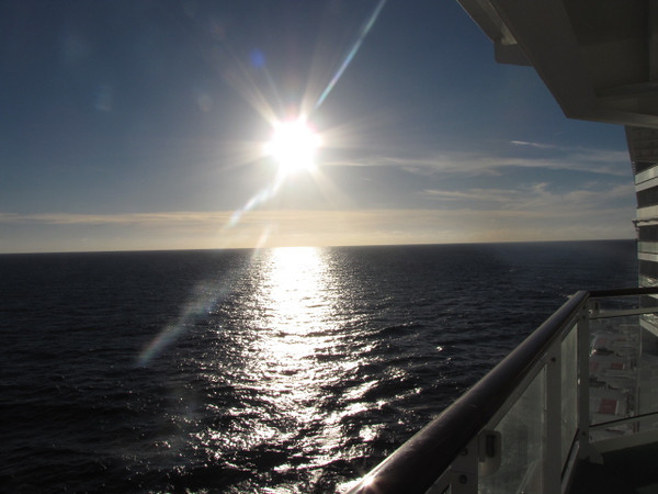 Our # 1 reason why we pay the extra money to make sure we have a Balcony on every Cruise we take... whether it's in Alaska, Europe, the Caribbean, Hawaii, Asia, etc. the Sunsets are always Spectacular!!