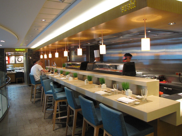"Of course no ""Teppanyaki"" Restaurant would be complete without a Sushi Bar next store!!  On the ""Epic"" the ""Wasabi"" Sushi Bar fills that role! :-)"