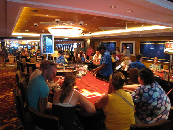 "Like almost all Cruise Ships the Epic had an onboard Casino... slots, all the table games, etc. It's all there if you want to Dance with ""Lady Luck""! :-)"