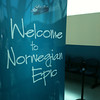 "As you can see, as soon as you get to the Cruise Port, Norwegian, and specifically here the ""Epic"", give you a Warm ""Welcome Aboard""! :-)"