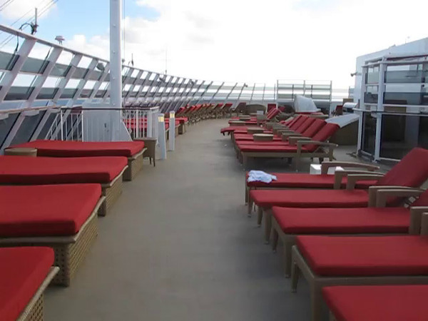 Check out this Video footage to take a closer at the Private Sun deck area for Suite guests.