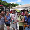 There's a few of the gang who we did the Jeep Tour in St. Thomas with... fun, fun, fun!!  Anytime you can Cruise with great Friends go for it... it's a Blast!
