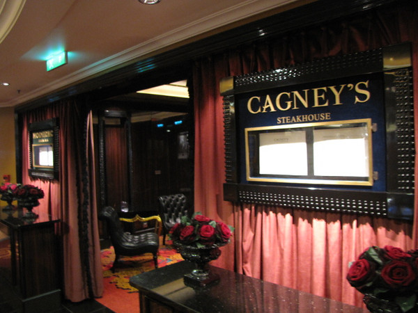 "Our Favourite Restaurant on Norwegian Ships is ""Cagney's"". (We've eaten there on all 5 of our NCL Cruises)  If you like Steak &/or Crab, you'll Love ""Cagney's"".  And with the ""Moderno"" option added to ""Epic"" (next Video) it's a Meat Lover's Dream!! :-)"