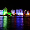 There's a peek at Willemstad at night... as you can soon, it's a beautiful, and colorful, place to enjoy an evening!