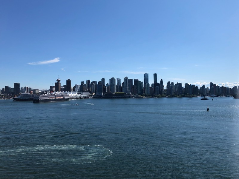 There's a peek at Beautiful Vancouver, BC as we sailed away from port... you'll see we had 2 other ships in Port that day.<br /> <br /> FYI, Vancouver is the main Cruise port for Alaska where almost all ships have to sail through at 1 point or another during the Alaska Season each year.