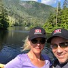 "To keep with our ""Hiking"" theme we headed out to ""Carlanna Lake Trail"" when in Ketchikan... FYI, it was almost a 1 hour walk to get to the lake from the ship & then we spent an hour there and then an hour back so give yourself 3 hours for this one.<br /> <br /> Again though, as you'll see in this pic and the next 2 and the video after those, we were once again treated to some GREAT scenery!! :-)"