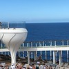 """At the ends of the """"Resort Deck"""" they had these really cool """"Martini"""" shaped hot-tubs that were 2 stories above the deck... again, they had great views of the Ocean & were very popular!!"""