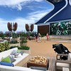 """If you've been on Celebrity's """"Solstice Class"""" ships you've probably seen their """"Lawn Clubs"""" on the top of the ship that features real grass.<br /> <br /> Due to what must be a ton of up-keep and ever-changing weather as the ships move around the World, they dropped the grass on """"Edge"""" but they kept their """"Rooftop Garden"""" area which is a great place to chill out, watch a movie, play a game, etc."""
