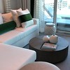 "Here's a video of an ""Edge Villa"" onboard Celebrity Edge... Beautiful room!! :-)<br /> <br /> FYI, if you visit here <a href=""https://secure.viewer.zmags.com/publication/3c2d5926#/3c2d5926/1"">https://secure.viewer.zmags.com/publication/3c2d5926#/3c2d5926/1</a> you can learn more about Celebrity's ""Suite Class"" program & you'll see all the perks included in your room depending on the type of Suite you stay in."