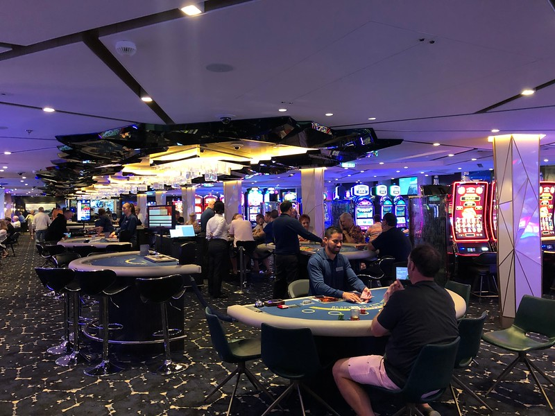 The Casino was non-smoking... a nice change from some Cruise ships that still allow it.