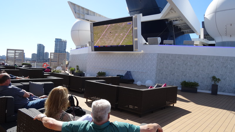 "A nice new addition added to the ""Infinity"" recently is the ""Rooftop Terrace"" where you can enjoy a game or a movie from some comfy seats."