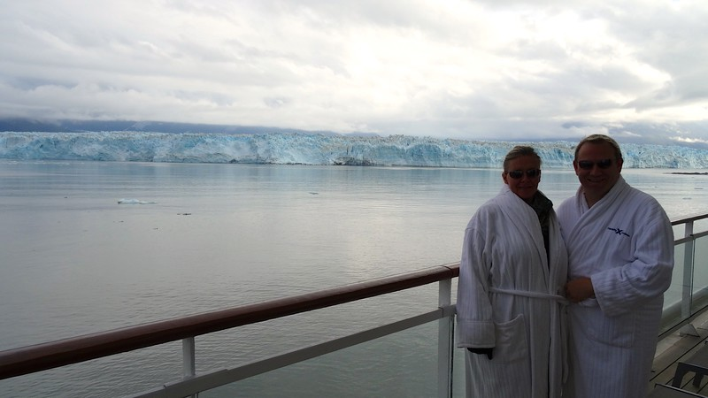 """This was our 3rd time visiting """"Hubbard Glacier"""" and every-time it fascinates us more & more... make sure either this or """"Glacier Bay"""" are on your Alaska itinerary as seeing a major Glacier is a must when in Alaska... what a highlight! :-)"""