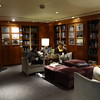 There's another nice quiet place to relax onboard... the well stocked Library.