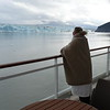 As you can see this is more private, we didn't have to go find a spot in the cold an hour or so before we got to the Glacier and the room service we enjoyed just a few minutes before arriving into Hubbard Glacier made it even better! :-)