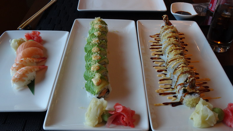 And the rolls & nigiri were pretty tasty as well!