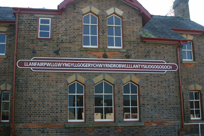 "And finally, what visit to Wales would be complete without visiting the town of ""Llanfairpwllgwyngyllgogerychwyrndrobwllllantysiliogogogoch"" which happens to be the longest town name in the World! :-)"