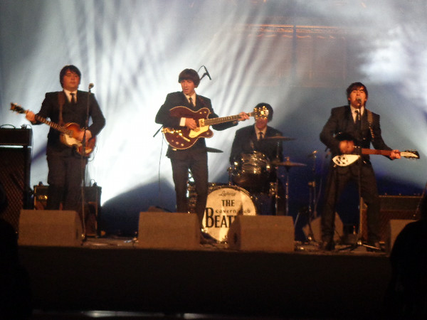 "During the second 1/2 of our exclusive evening we were entertained by a ""Beatles"" Tribute Band... fitting since we were in the home of the ""Fab Four""!"