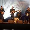 """During the second 1/2 of our exclusive evening we were entertained by a """"Beatles"""" Tribute Band... fitting since we were in the home of the """"Fab Four""""!"""