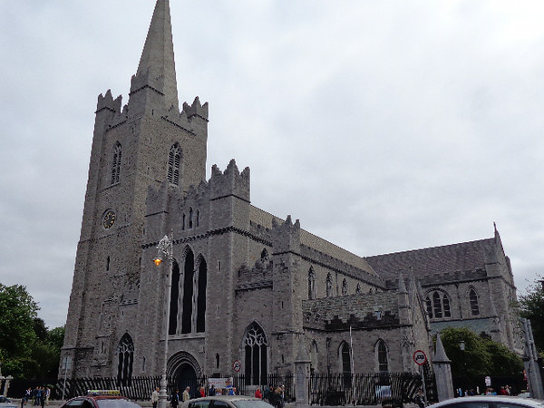 "Another thing Dublin has is some pretty Beautiful Churches such as the ""Christ Church Cathedral"" and the above ""St. Patrick's Cathedral""."