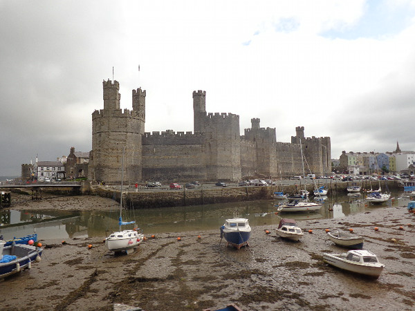 "Our 3rd port stop brought us to quaint Wales... that day we did a Full Day tour of the Northern part of this friendly Countryside and one of our stops was to the castle town of ""Caernarfon"", as you can see, a very pretty place with a medieval atmosphere!"