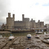 """Our 3rd port stop brought us to quaint Wales... that day we did a Full Day tour of the Northern part of this friendly Countryside and one of our stops was to the castle town of """"Caernarfon"""", as you can see, a very pretty place with a medieval atmosphere!"""