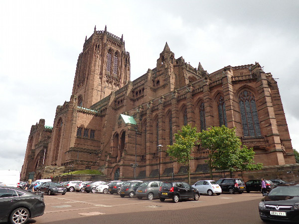 "There's a look at the ""Liverpool Cathedral"", the biggest in Britain! It's Organ has 10,268 pipes in it, WOW! And the sounds that come out of it is spectacular! We'll show you some pictures in a moment of the Fabulous evening we spent there."