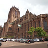 """There's a look at the """"Liverpool Cathedral"""", the biggest in Britain! It's Organ has 10,268 pipes in it, WOW! And the sounds that come out of it is spectacular! We'll show you some pictures in a moment of the Fabulous evening we spent there."""