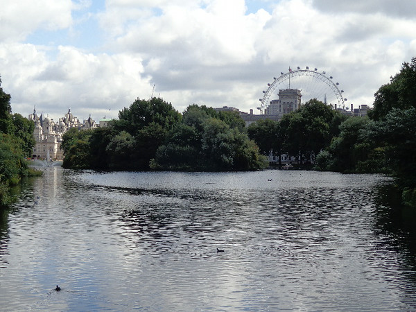 "We stayed at ""St. Ermin's Hotel"" right in the heart of London and around the corner was ""St. James Park""... make sure to walk through when in London as it has some of the best views of Buckingham Palace in there as well as the ""London Eye"" wheel which you can see above."
