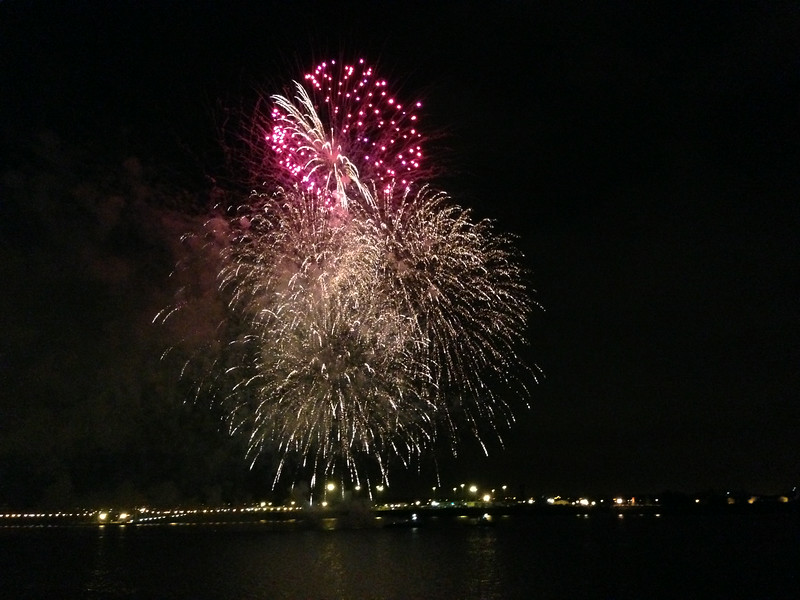 "And in true Classy Azamara Style, we were treated to Fireworks just off the starboard side of the Ship to end our exclusive event... it truly was an ""AzAmazing Evening""!! :-)"