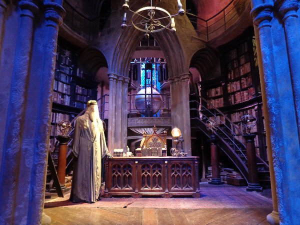 "There's ""Dumbledore's"" Office, another place during the movies of some very memorable Harry scenes!"
