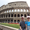 "Before we started our 12 Night ""Black Sea"" Adventure on Crystal, we spent 5 nights in Rome exploring this historic city.  There we are checking out the famous ""Colosseum"" right in the heart of modern Rome.<br /> <br /> Learn all our top tips for when visiting Rome here:<br /> <a href=""http://nancyandshawnpower.com/tips-for-cruising-to-rome-italy"">http://nancyandshawnpower.com/tips-for-cruising-to-rome-italy</a>"