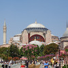 "Right across from the Blue Mosque is ""Hagia Sophia"" which was once a church, then a mosque & now a museum... like the Blue Mosque, it's another breathtaking structure right in the heart of Istanbul!"