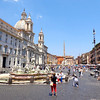 "A great walk to do when in Rome is the ""Heart of Rome"" walk from Campo De Fiori to the Spanish Steps... or vice versa. Along the way you'll see amazing things like the Pantheon, Trevi Fountain and as you'll see in this pic, ""Piazza Navona"" which is a great place to eat, have a drink, people watch, hear some local music, etc."