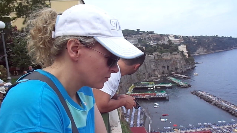 We mentioned Sorrento was a beautiful hill-side town... here's some video showing you the views from there and where your ship will be parked during your visit.