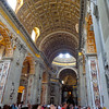 "Of course, once you visit the Vatican Museum & Sistine Chapel make sure to step in and explore the cross shaped ""St. Peter's Basilica"" which is the heart of Catholicism where the Pope resides... whether you're Catholic or not you'll be impressed by this structure that can fit as many as 60,000 people."