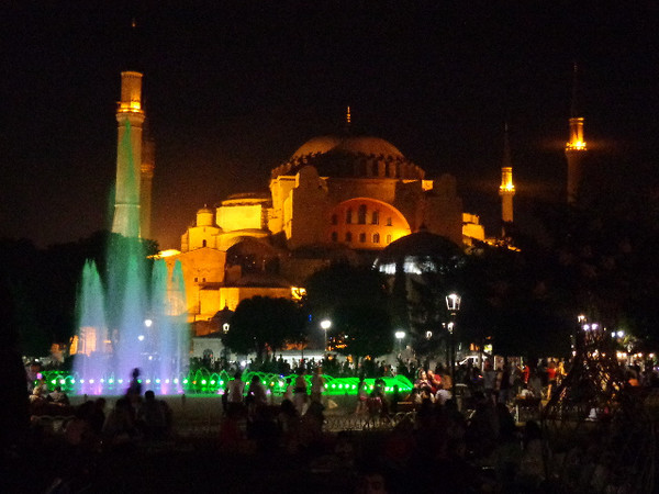 "Check out Hagia Sophia at night... our favorite time in Istanbul for sure is at night when everything comes alive... and we were there during ""Ramadan"" which was even better, for sure visit during then if you can!"
