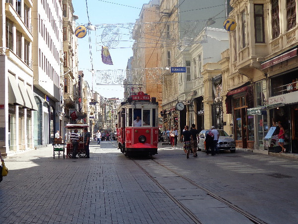 "Well, we made it, we're in Istanbul, Turkey!  We 1st visited Turkey back in 2010 and loved it & were keen to come back. Here's a look at ""Istiklal Street"" in the modern district which is a pedestrian only shopping street.<br /> <br /> Want to hear more about our time in Istanbul, then simply visit here: <a href=""http://nancyandshawnpower.com/istanbul-turkey-review"">http://nancyandshawnpower.com/istanbul-turkey-review</a>"
