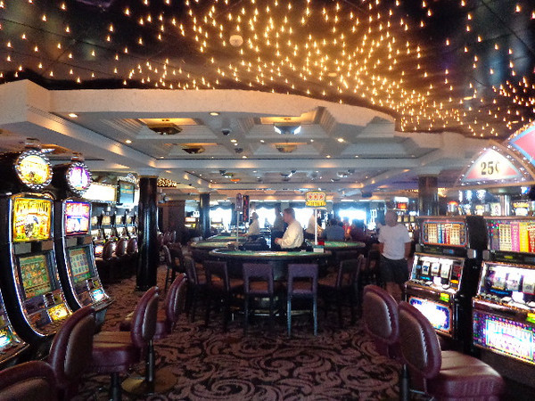 "There's the Crystal Symphony's Casino where those who like to dance with ""lady luck"" will be spending a portion of their evenings as well. :-)"